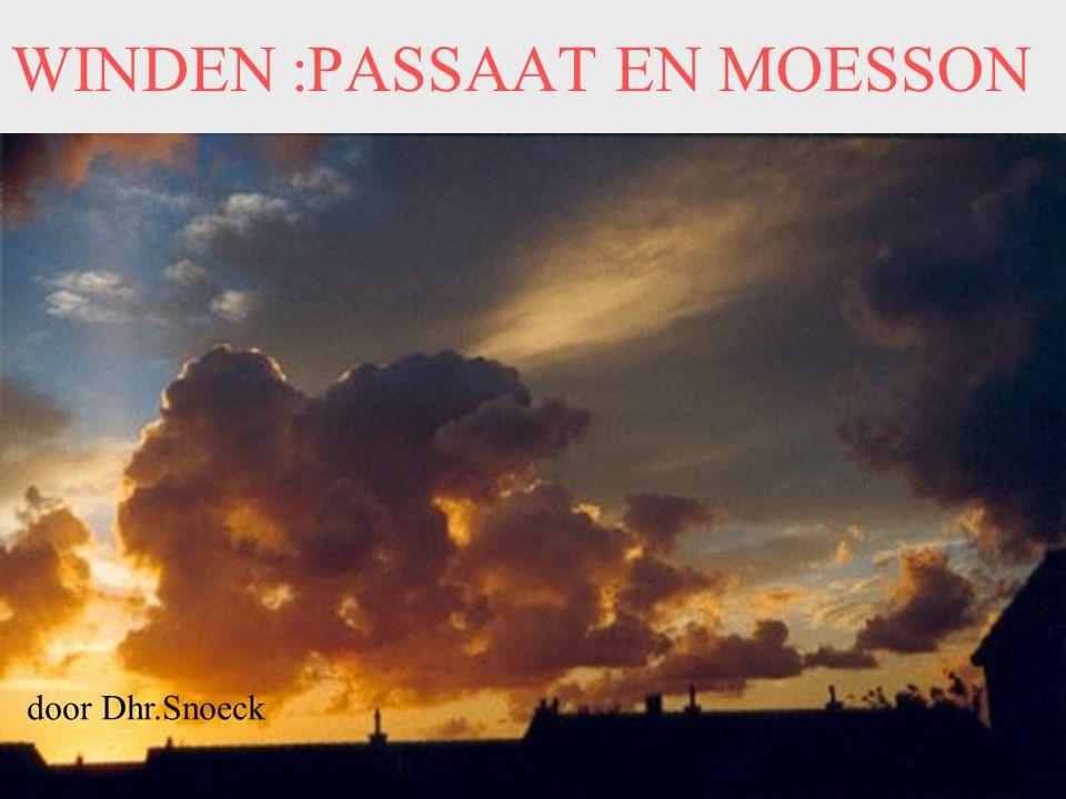 WINDEN :PASSAAT EN MOESSON door Dhr.Snoeck