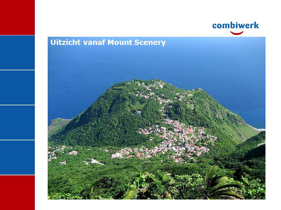 Uitzicht vanaf Mount Scenery