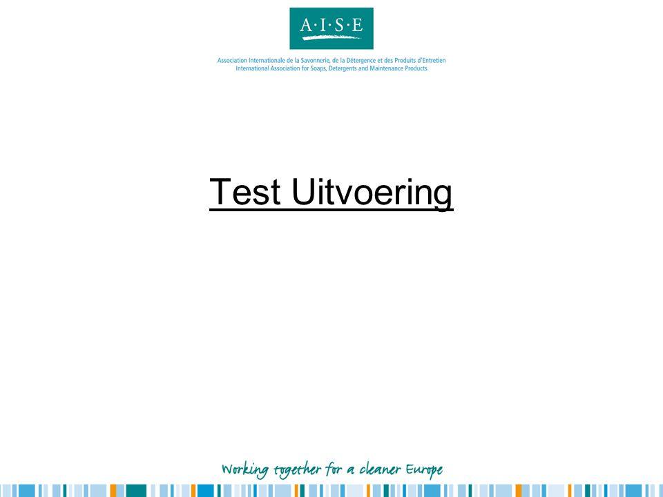 Test Uitvoering