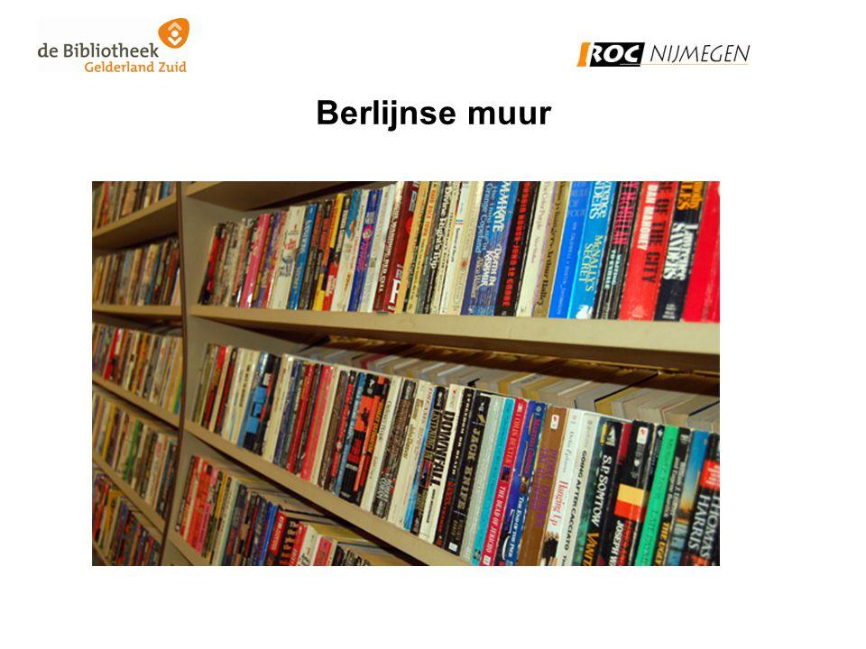 Werkwijze bibliotheek •Biedt doorlopende leer- en leeslijnen aan voor jong en oud.
