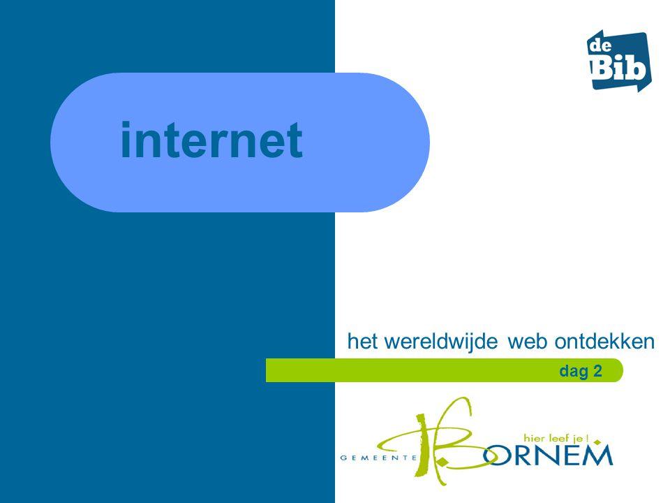internet het wereldwijde web ontdekken dag 2