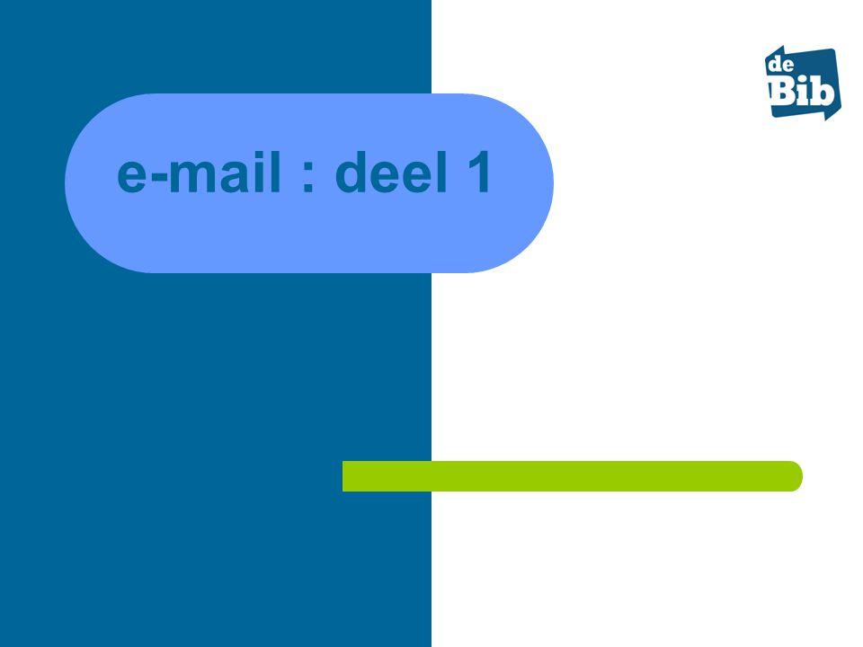 e-mail : deel 1