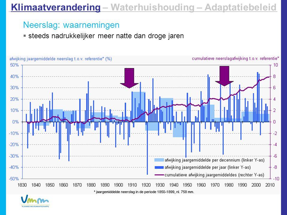 Invloed op hoog- en laagwater langs rivieren  Laagwater in de zomer:  Laagste rivierdebieten: 20-70%   Kans op watertekort , waterkwaliteit   Hoogwater in de winter:  Relatief beperkte toename piekafvoeren (max.