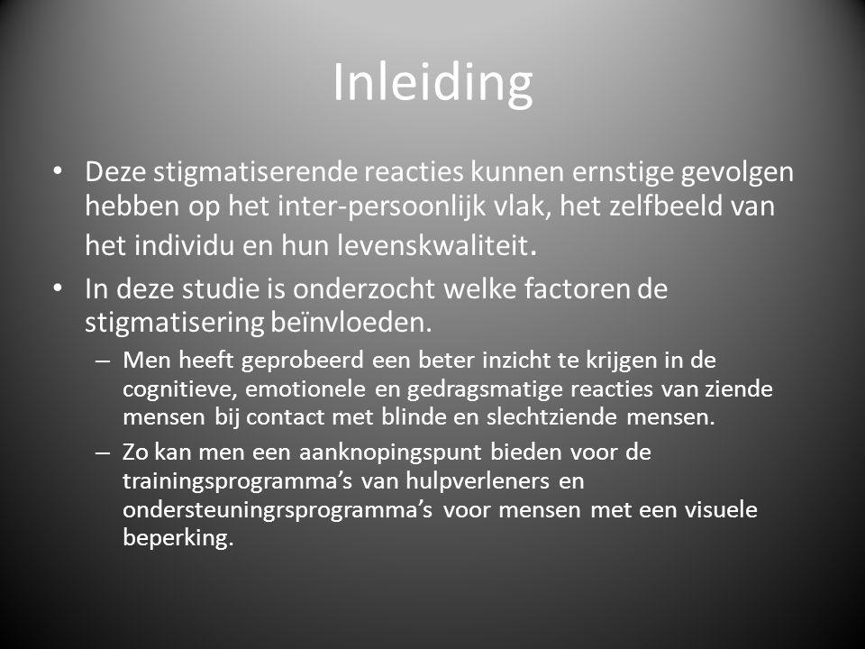 Stigmatisering • Stigma = afwijkend en ongewenst kenmerk van een persoon of groep dat negatieve reacties bij anderen oproept.