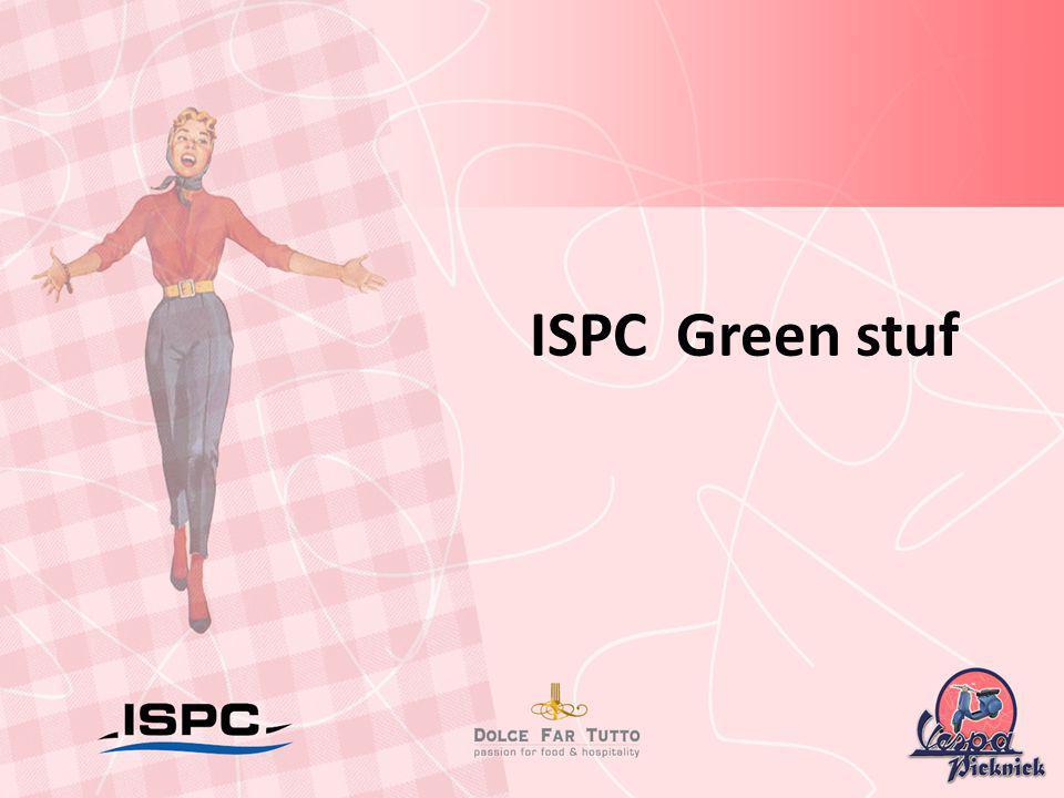 ISPC Green stuf