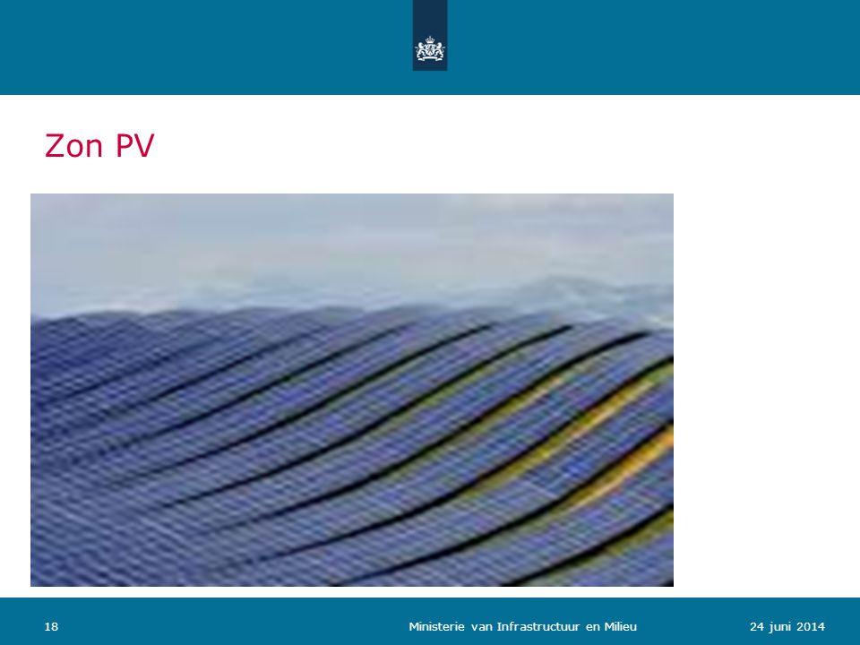 Zon PV 1824 juni 2014 Ministerie van Infrastructuur en Milieu