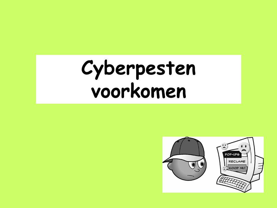 Cyberpesten voorkomen