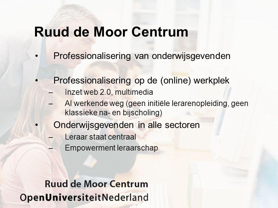 Professionalisering: … •En dan vooral non- en informeel: – 90% van de communicatie tussen collega's treedt op bij toevallige ontmoetingen (Kraut, 1993).