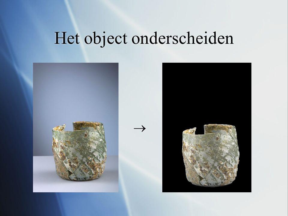 Het object onderscheiden  