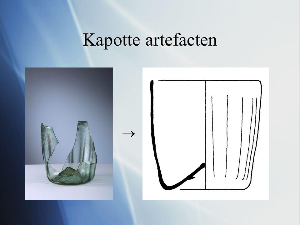 Kapotte artefacten  