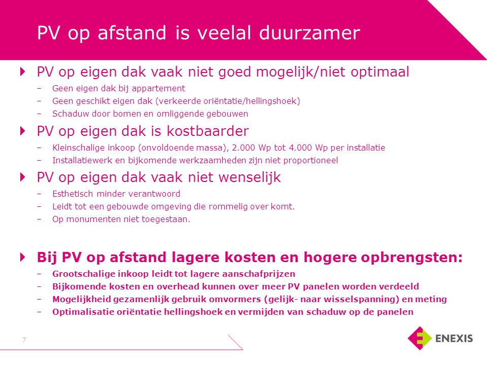 8 8 PV op afstand