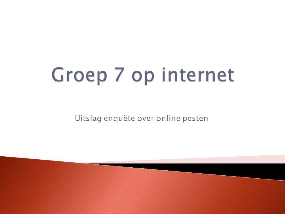 Social Media.Welke worden gebruikt in groep 7.