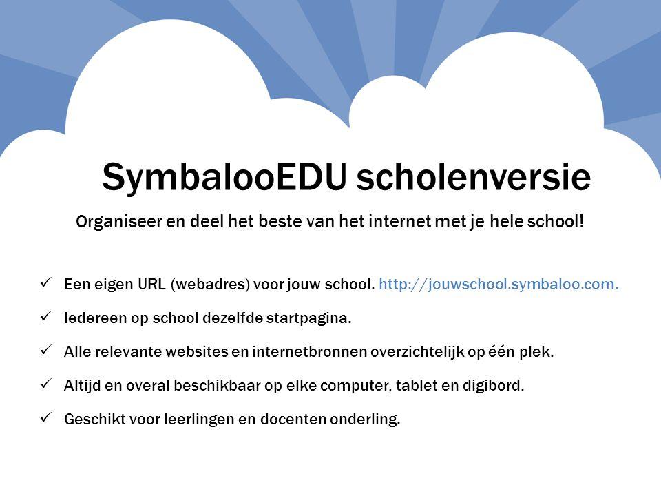Organiseer en deel het beste van het internet met je hele school.