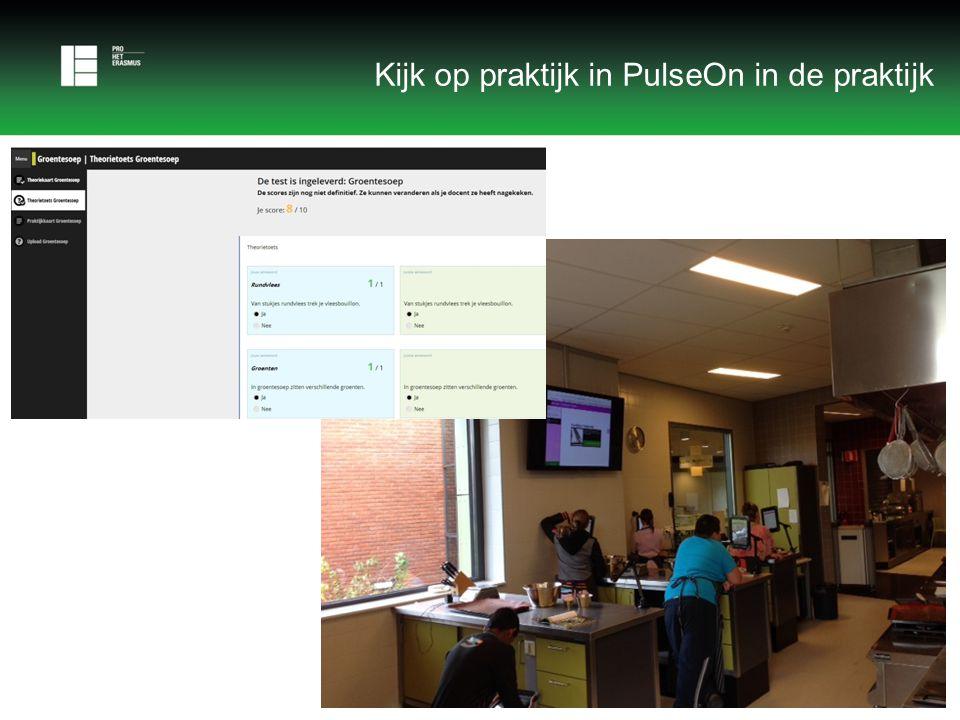 Kijk op praktijk in PulseOn in de praktijk