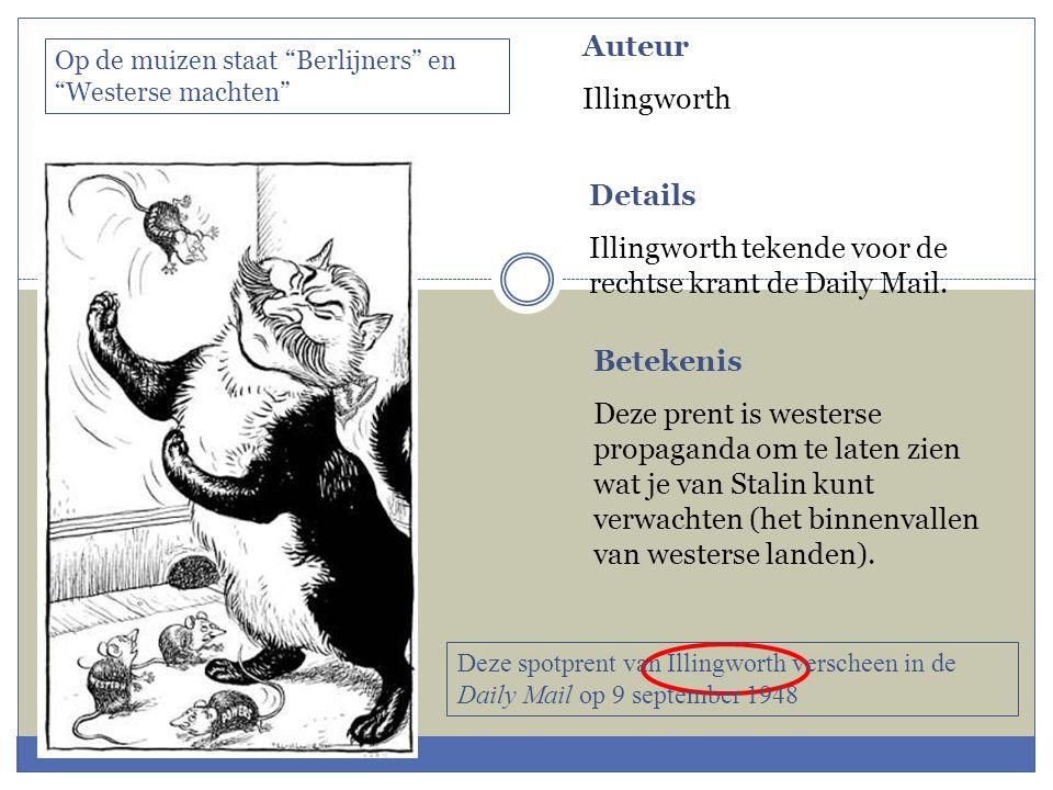 Auteur Illingworth Details Illingworth tekende voor de rechtse krant de Daily Mail.