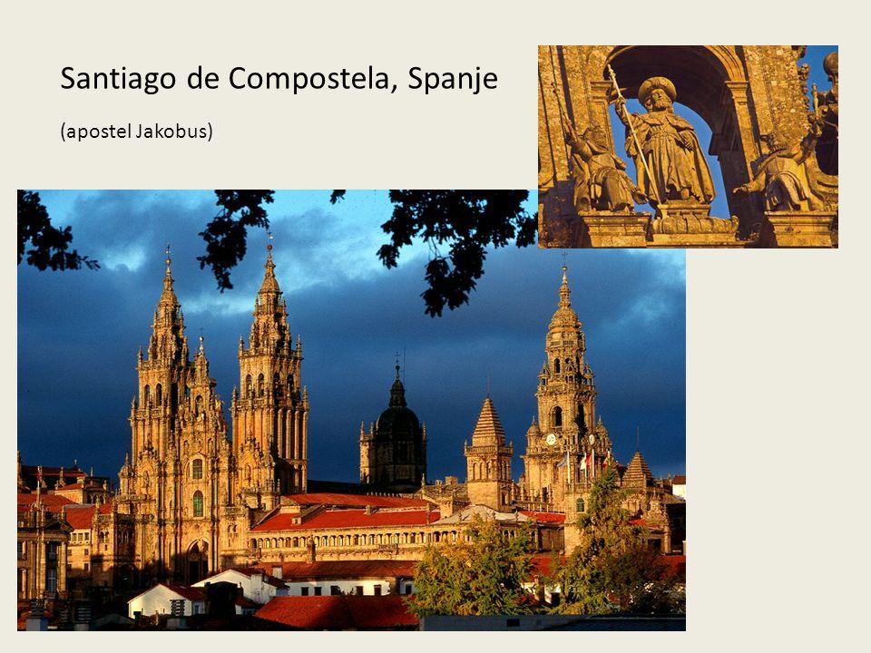 Santiago de Compostela, Spanje (apostel Jakobus)