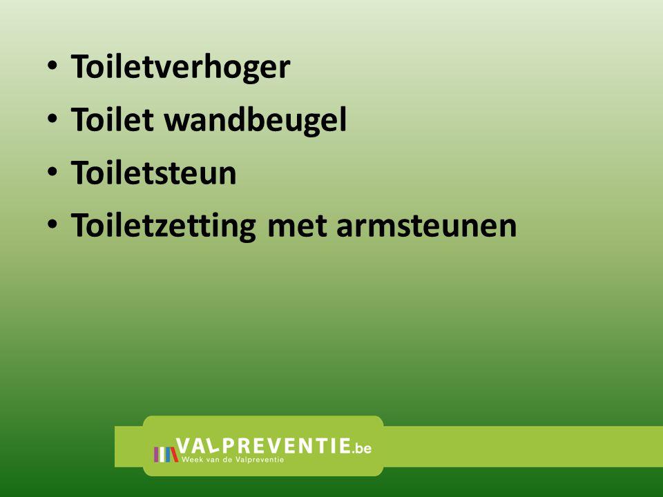 • Toiletverhoger • Toilet wandbeugel • Toiletsteun • Toiletzetting met armsteunen