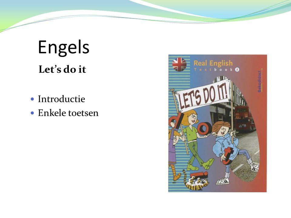 Engels Let's do it  Introductie  Enkele toetsen