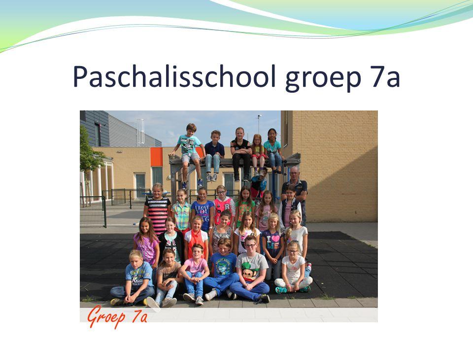 Paschalisschool groep 7a