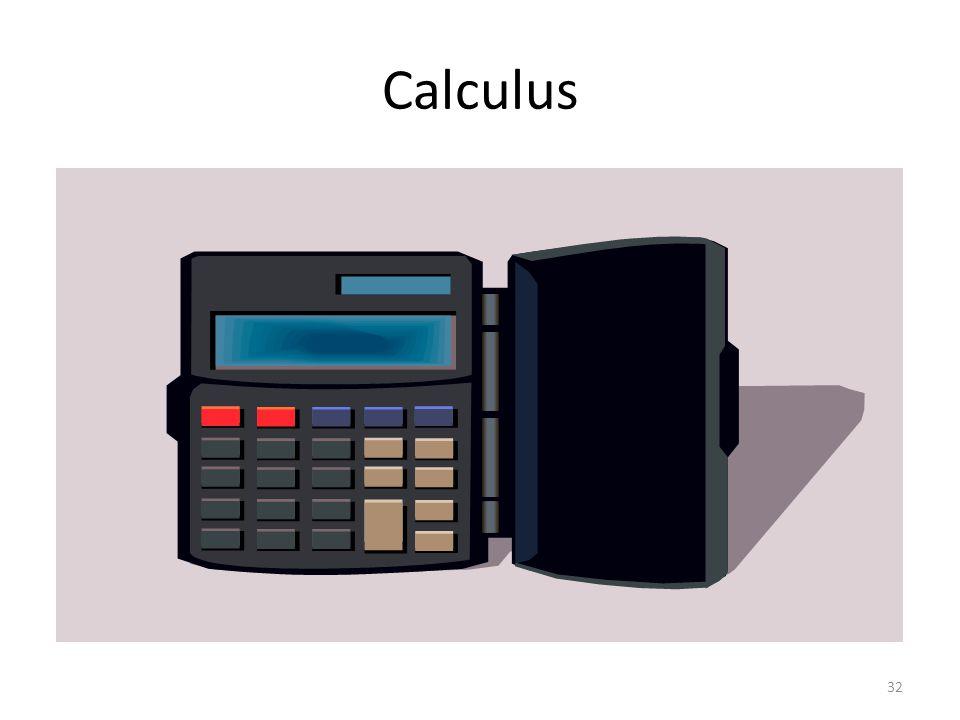Calculus 32