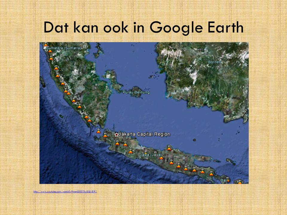 Dat kan ook in Google Earth http://www.youtube.com/watch?v=msmSXRYXy8I&NR=1