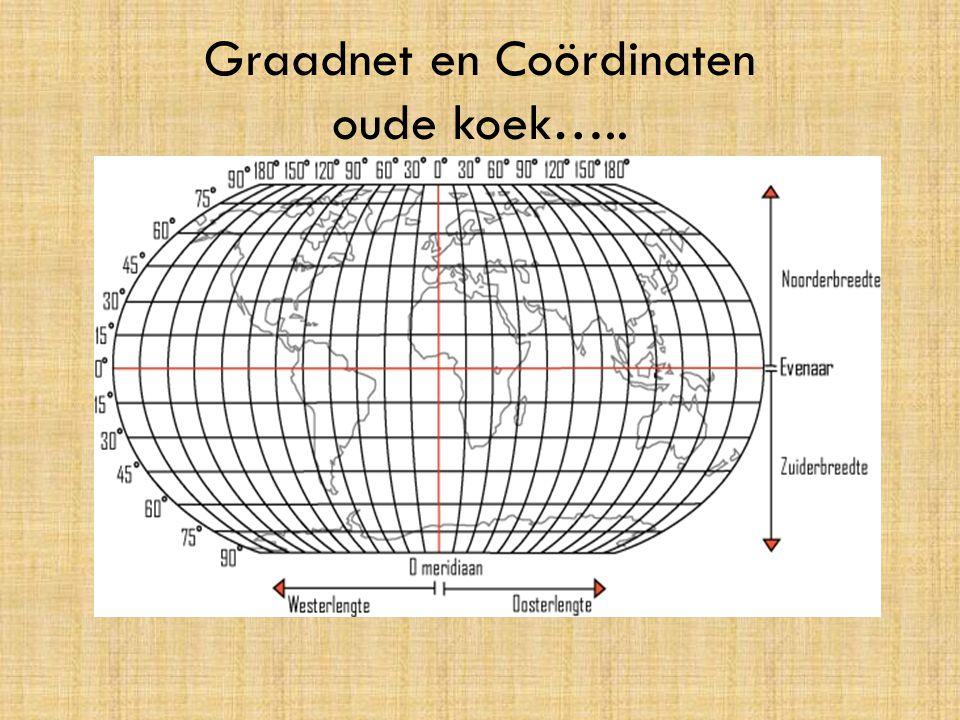 Graadnet en Coördinaten oude koek…..
