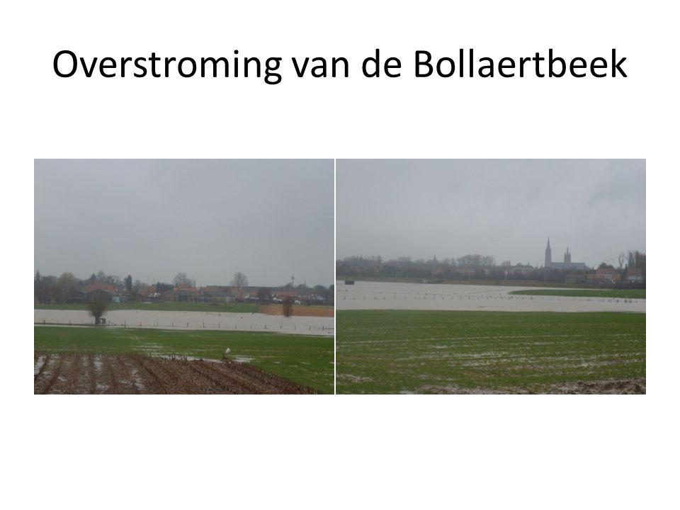 Overstroming van de Bollaertbeek