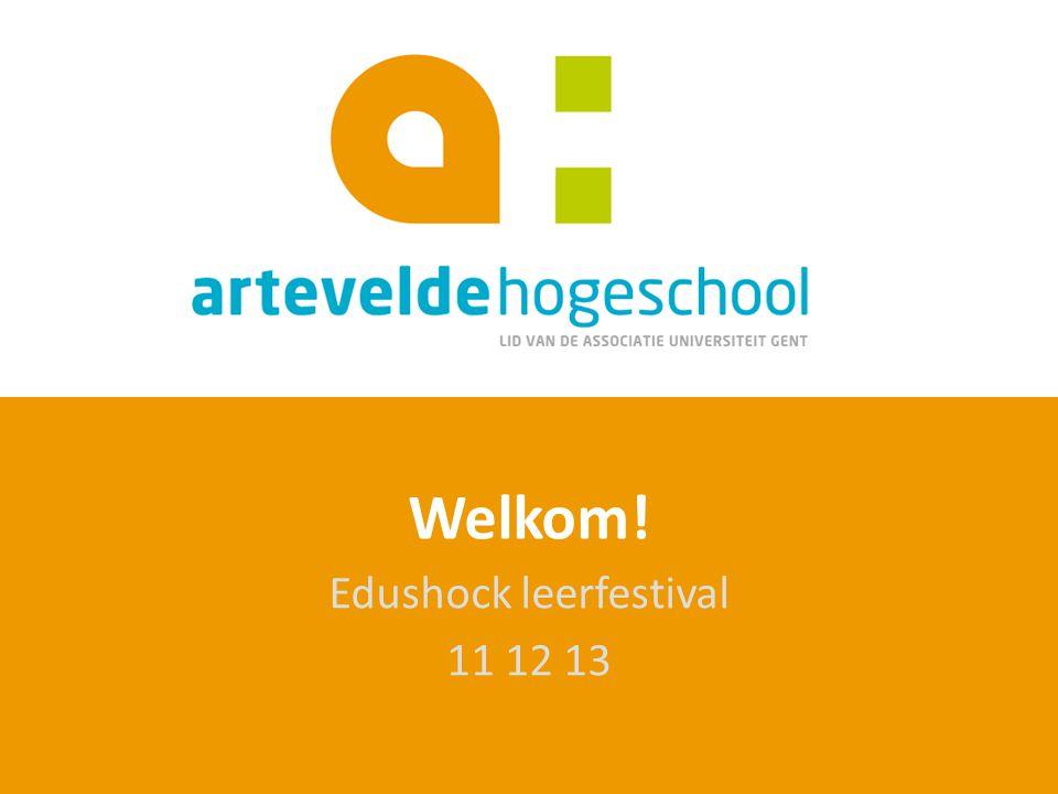 Welkom! Edushock leerfestival 11 12 13