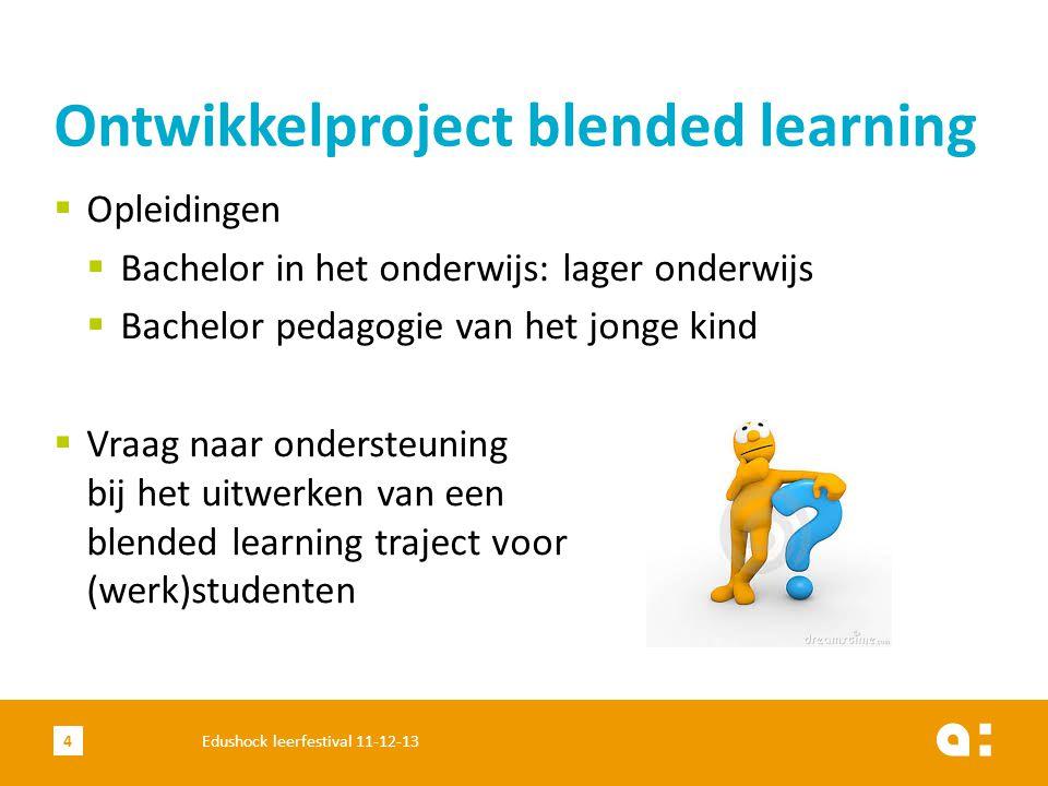 Verantwoording keuzes 15Edushock leerfestival 11-12-13 Motivatie Coping ICT-zelfredzaamheid Interesse