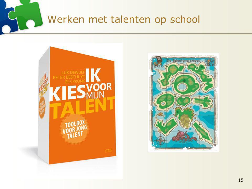 Werken met talenten op school 15