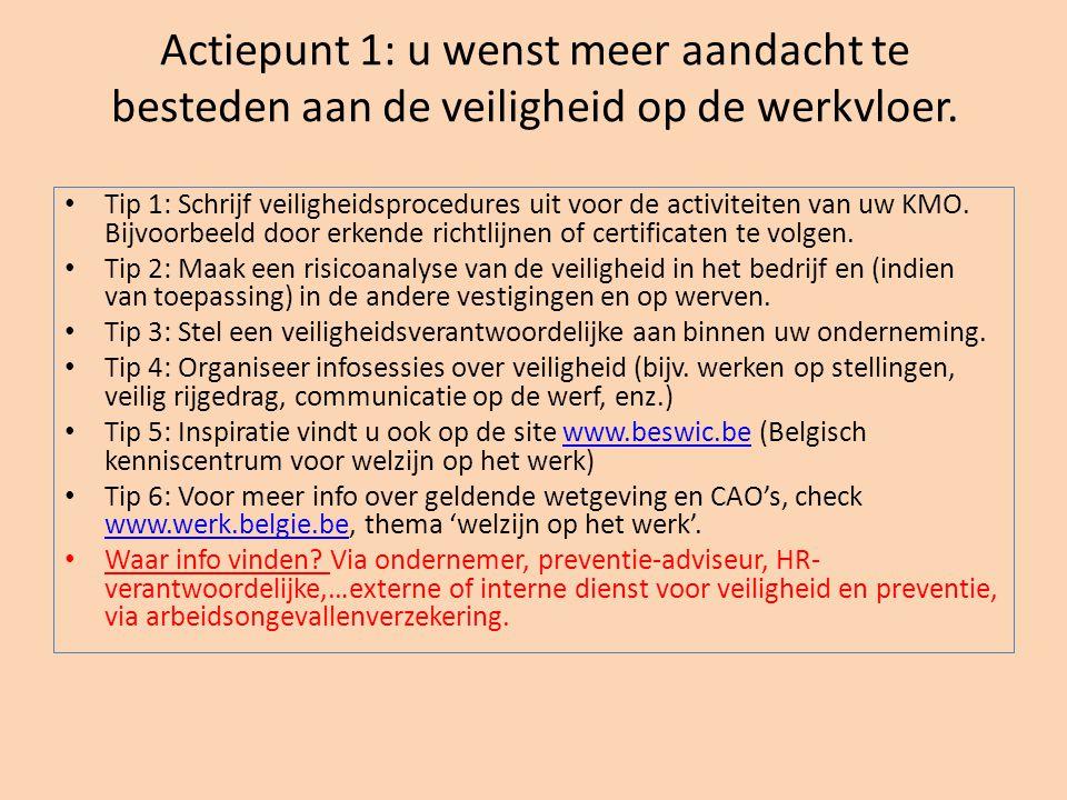 Actiepunt 37: u wenst antidiscriminatie als aankoopcriterium op te nemen in uw aankoopbeleid.