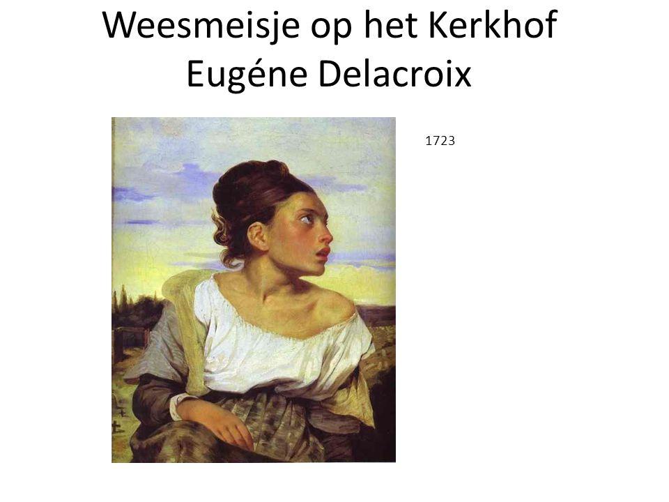 Weesmeisje op het Kerkhof Eugéne Delacroix 1723