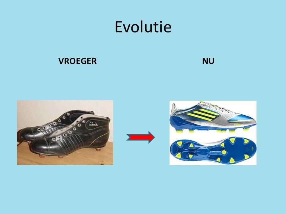 Evolutie VROEGERNU