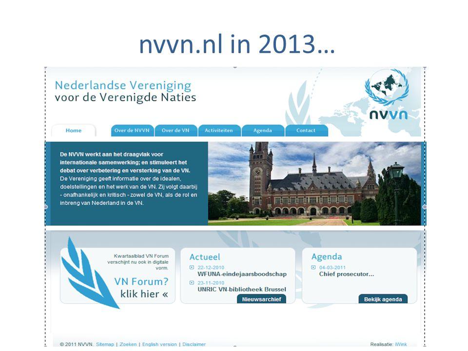 nvvn.nl in 2013…