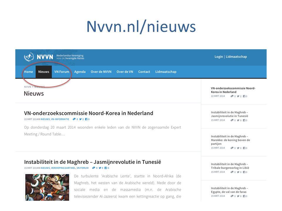 Nvvn.nl/nieuws