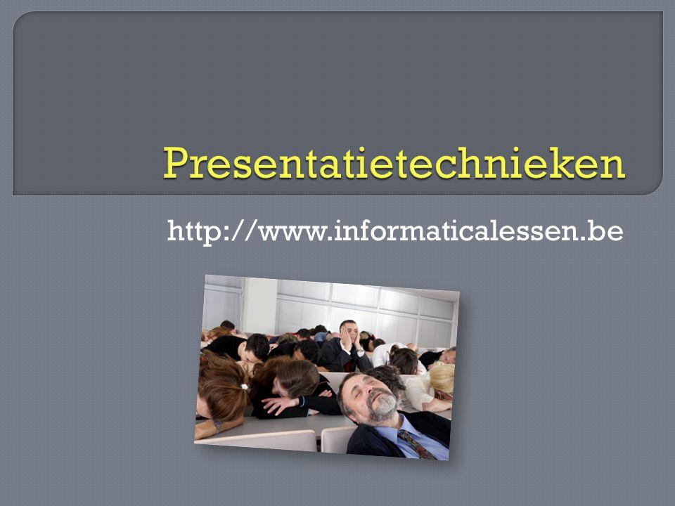 http://www.informaticalessen.be