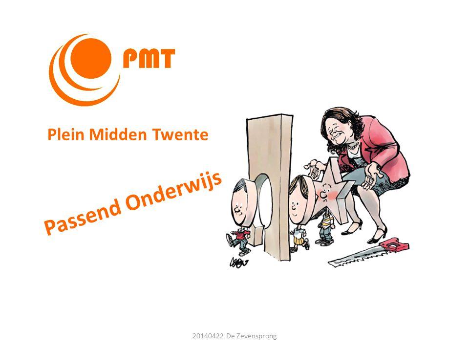 Passend Onderwijs Plein Midden Twente 20140422 De Zevensprong