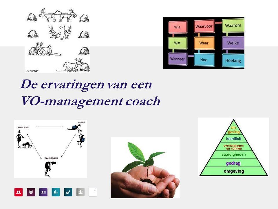 De ervaringen van een VO-management coach