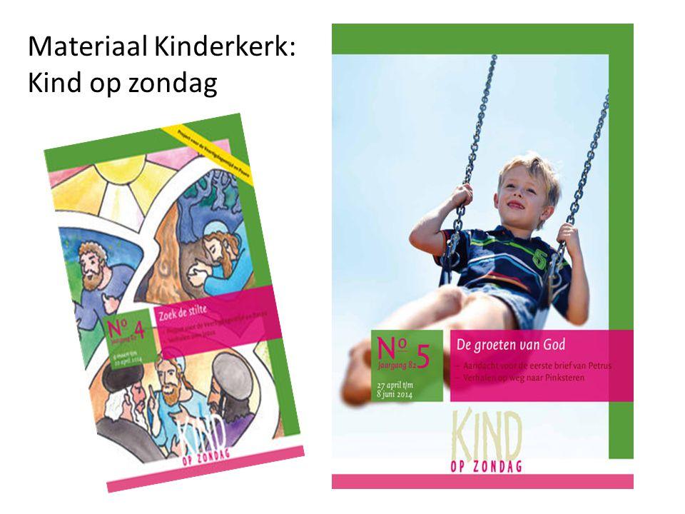 Materiaal Kinderkerk: Kind op zondag
