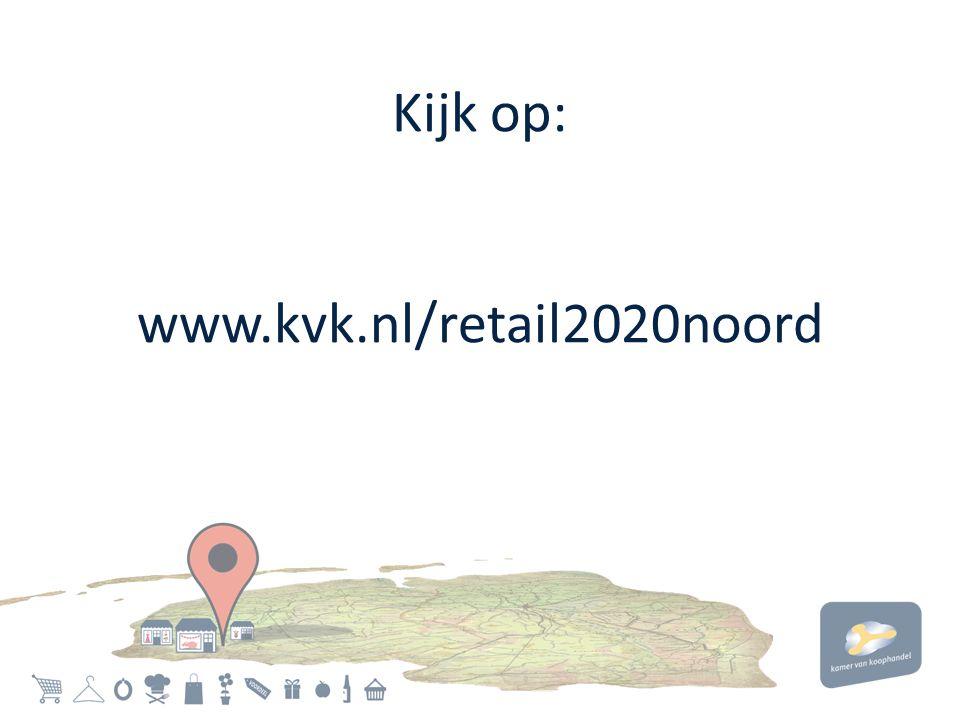 Kijk op: www.kvk.nl/retail2020noord