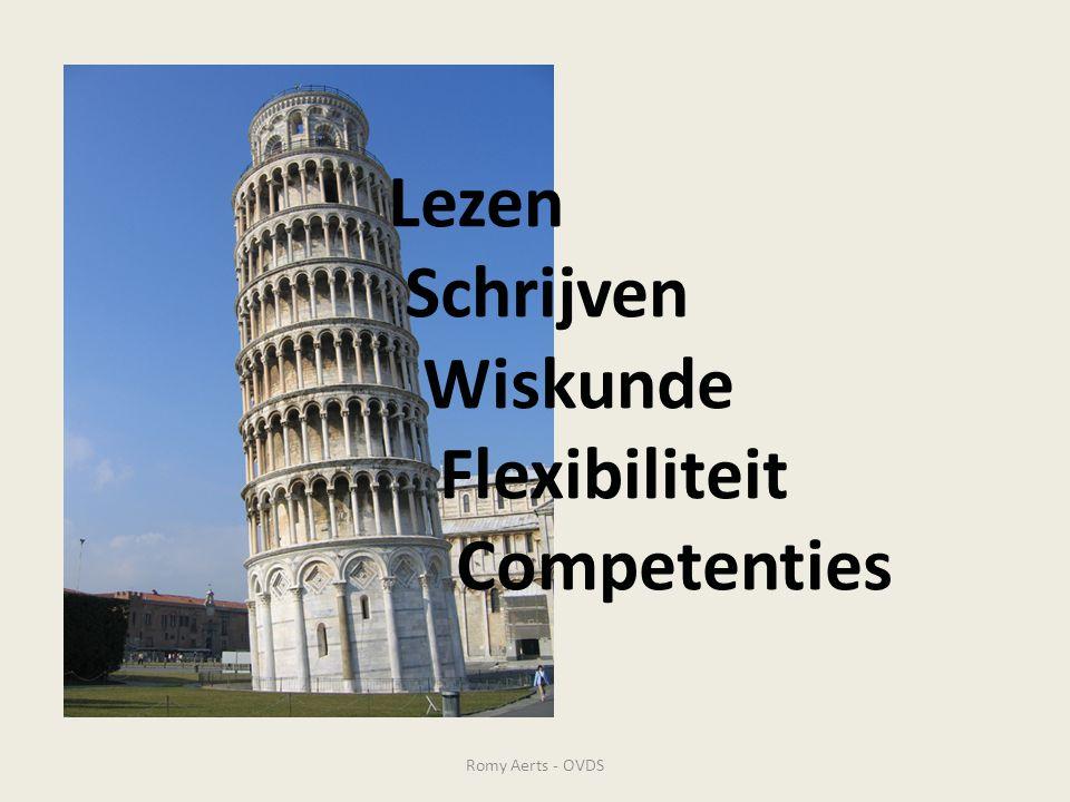 Lezen Schrijven Wiskunde Flexibiliteit Competenties Romy Aerts - OVDS