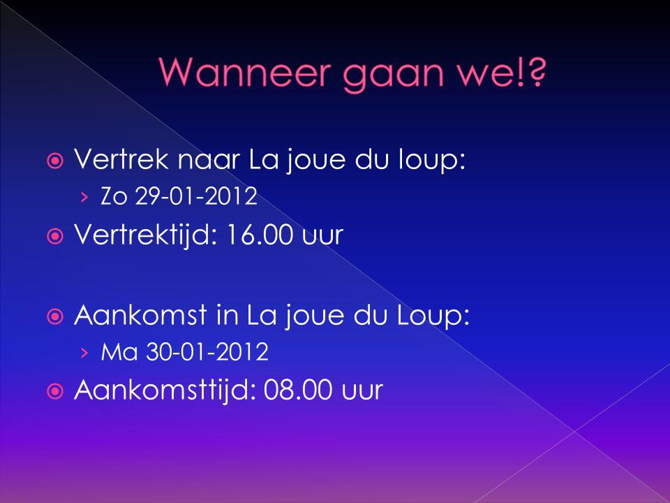  Vertrek naar Utrecht: › Do 02-02-2012  Vertrektijd: 19.30 uur  Aankomst in Utrecht: › Vr 03-02-2012  Aankomsttijd: in de loop van de ochtend