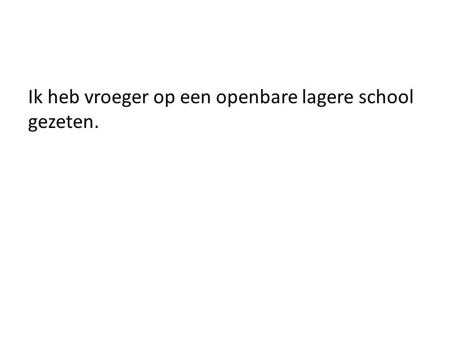 Ik ben zeer bekend met het Nederlandse duale onderwijssysteem.