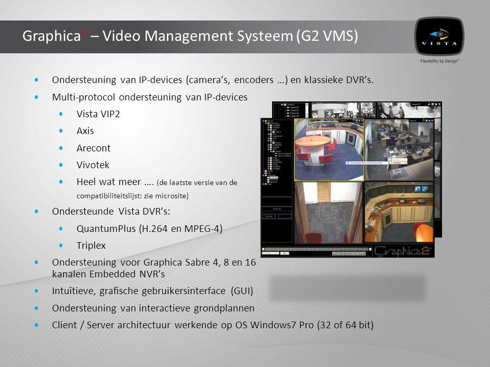 Graphica 2 – Voorbeeld van een groter systeem DVR