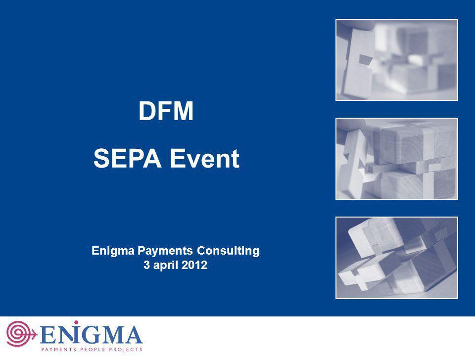 2 Agenda 1 1 2 2 3 3 SEPA achtergrond SEPA in de praktijk SEPA impact 4 4 SEPA Migratie Nederland Welkom