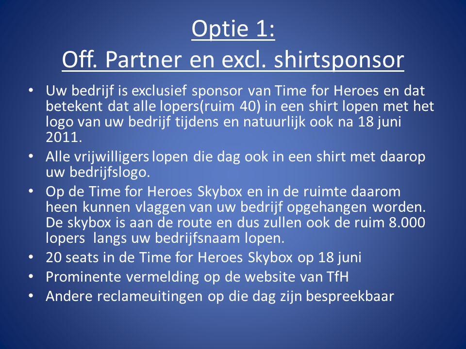 Optie 1: Off. Partner en excl.