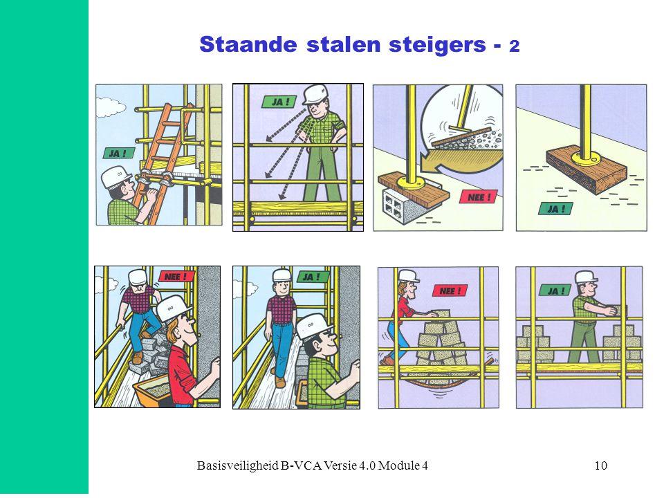 Basisveiligheid B-VCA Versie 4.0 Module 410 Staande stalen steigers - 2