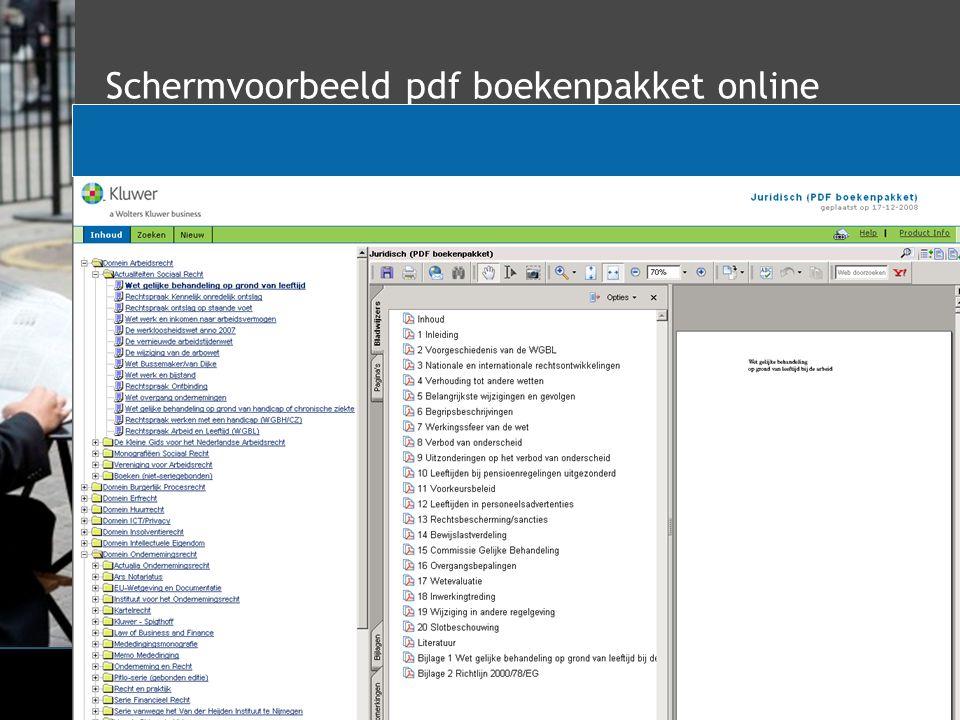 Schermvoorbeeld pdf boekenpakket online