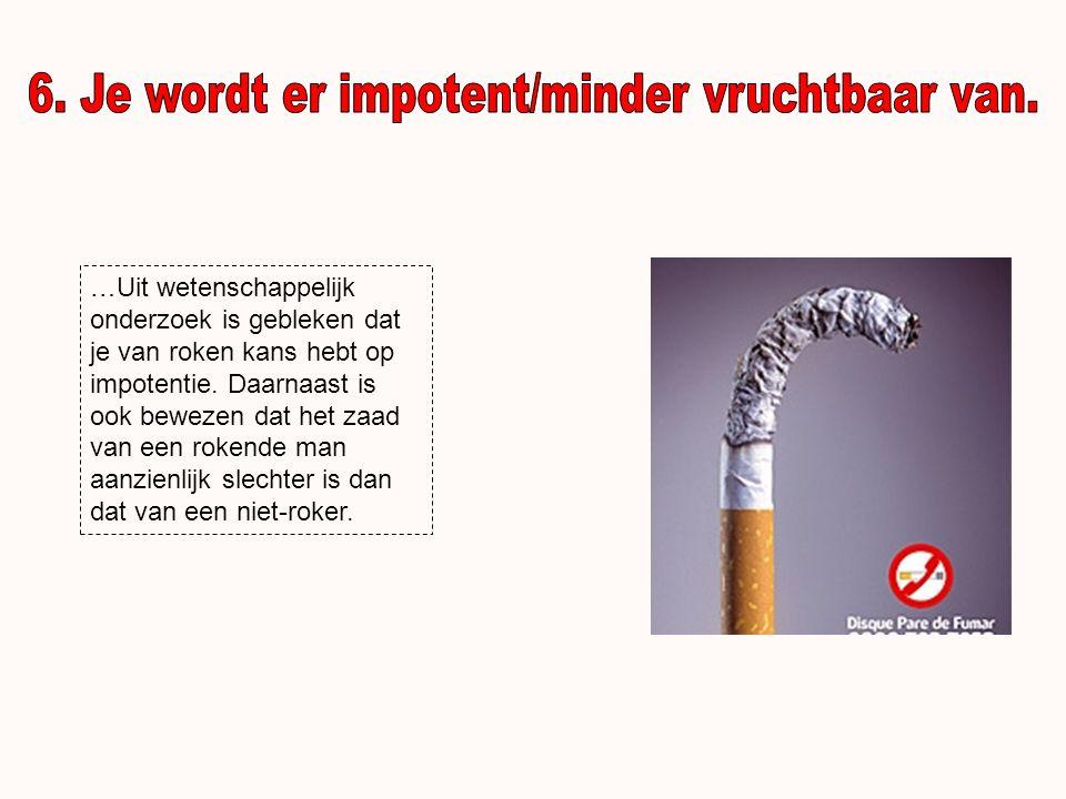 …Door roken kan elastine en bindweefsel in je huid worden afgebroken en eerder rimpelvorming ontstaan.