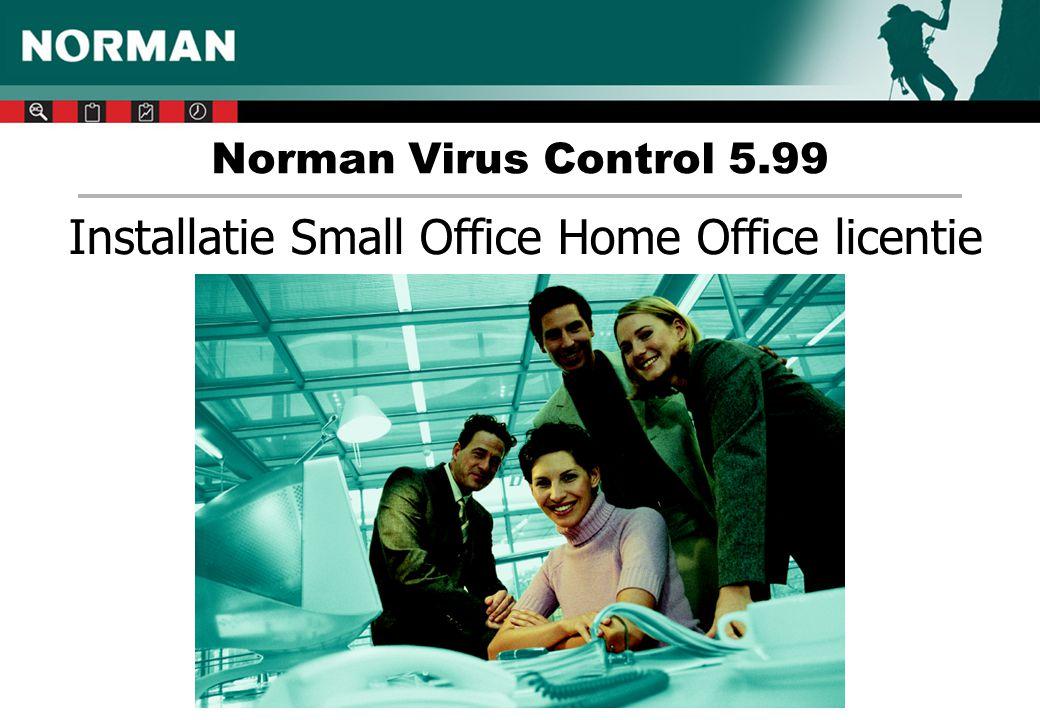 Norman Internet Protection op de server 1.Open de Configuratie-editor 2.Ga naar Norman Virus Control – Onderdelen 3.Verwijder bij 'Starten' het vinkje voor 'Internet protection' 4.Idem bij tabblad 'Installeren'